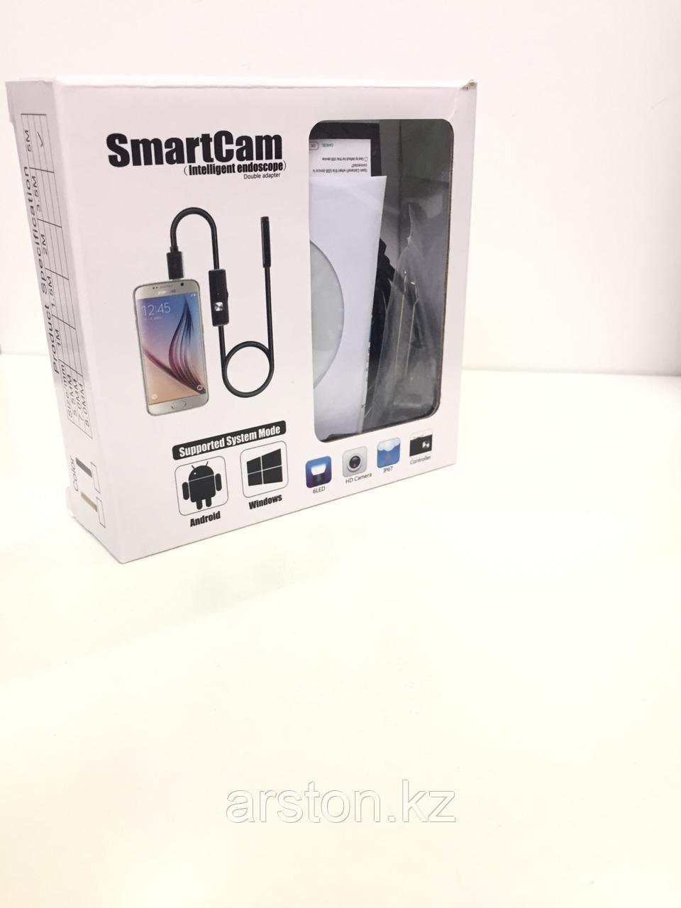 Камера эндоскоп на телефон 5 м 3 в 1