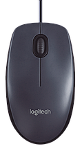 LOGITECH 910-005003 Corded Mouse M100 Мышь проводная - EMEA - GRAY
