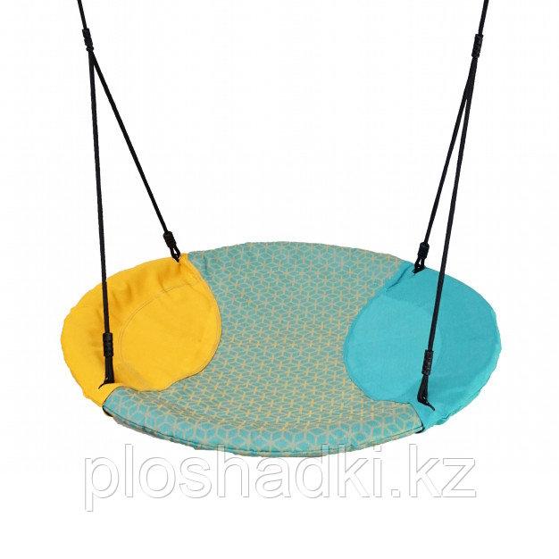 Качель-гнездо Winkoh с плетёной верёвкой
