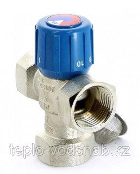 Watts Клапан термостатический смесительный AQUAMIX 6311C34 Пределы установки 25-50С Ду20, фото 2