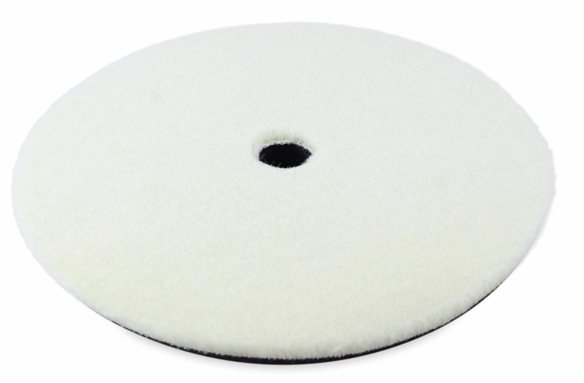 Полировальный круг стриженный мех на поролоне SGCB 180/150 мм