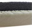 Полировальный круг стриженный мех на поролоне SGCB 180/150 мм, фото 3
