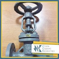 Вентиль запорный фланцевый стальной 32 мм