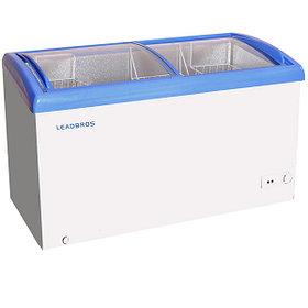 Морозильные лари со стеклянной крышкой LEADBROS/Konov
