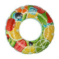 Круг для плавания «Фруктовый микс» 70 см