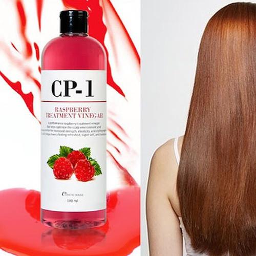 Кондиционер-ополаскиватель для волос с малиновым уксусом Esthetic House CP-1 Raspberry Treatment Vineg 500мл