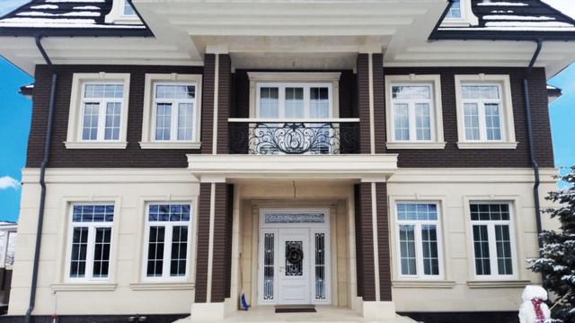 Фасадные панели и декоративные элементы