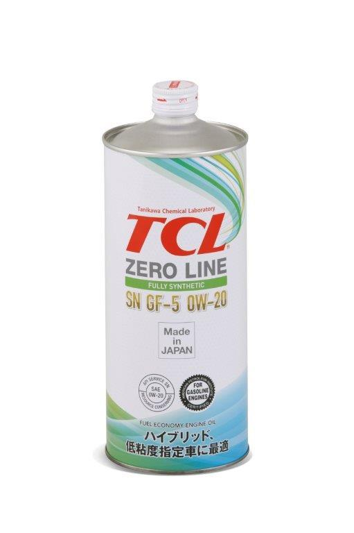 Японское моторное масло TCL Zero Line 0W-20 SN, GF-5 1L