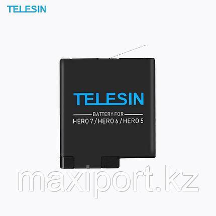 Аккумулятор TELESIN для GoPro Hero 5/6/7, фото 2