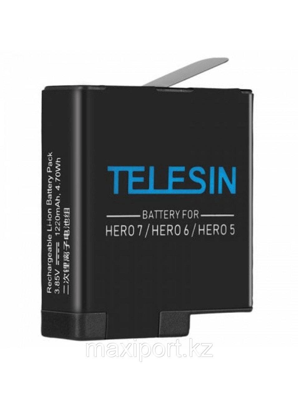 Аккумулятор TELESIN для GoPro Hero 5/6/7