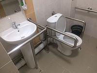 Откидные поручни для санузла и ванной