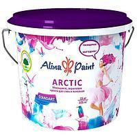 """Краска акриловая, моющаяся ALINA PAINT """"ARCTIC"""" 45 кг"""