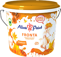 """Краска акриловая, фасадная, моющаяся ALINA PAINT """"FRONTA"""" 7 кг"""
