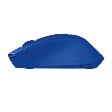 Logitech 910-004910 Мышь беспроводная M330 SILENT PLUS - BLUE - 2.4GHZ - EMEA