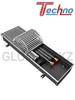 Внутрипольный конвектор Techno KVZV 300*85*2400 с вент. (Техно)