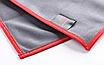Микрофибра для протирки стекол SGCB Glass Microfiber Towel 40*40см 300 г/м2 серая, фото 2