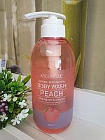 Гель для душа Around Me Natural Perfume Vita Body Wash Peach 500ml.  (Welcos)