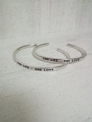 "Браслет «One life-one love"""