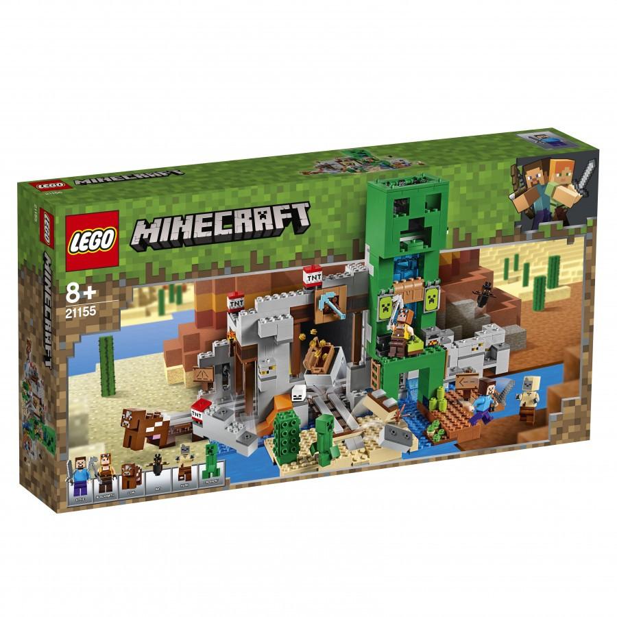 21155 Lego Minecraft Шахта крипера (уценка)