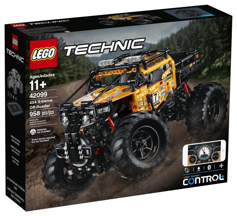 42099 Lego Technic Экстремальный внедорожник 4х4 с дистанционным управлением (уценка)