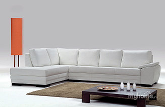 Угловой диван с подушками D-2