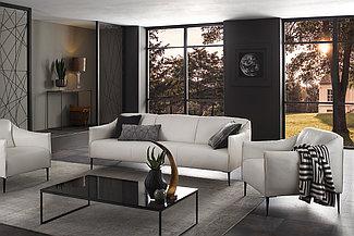 Комплекс диван и 2 кресла D-6