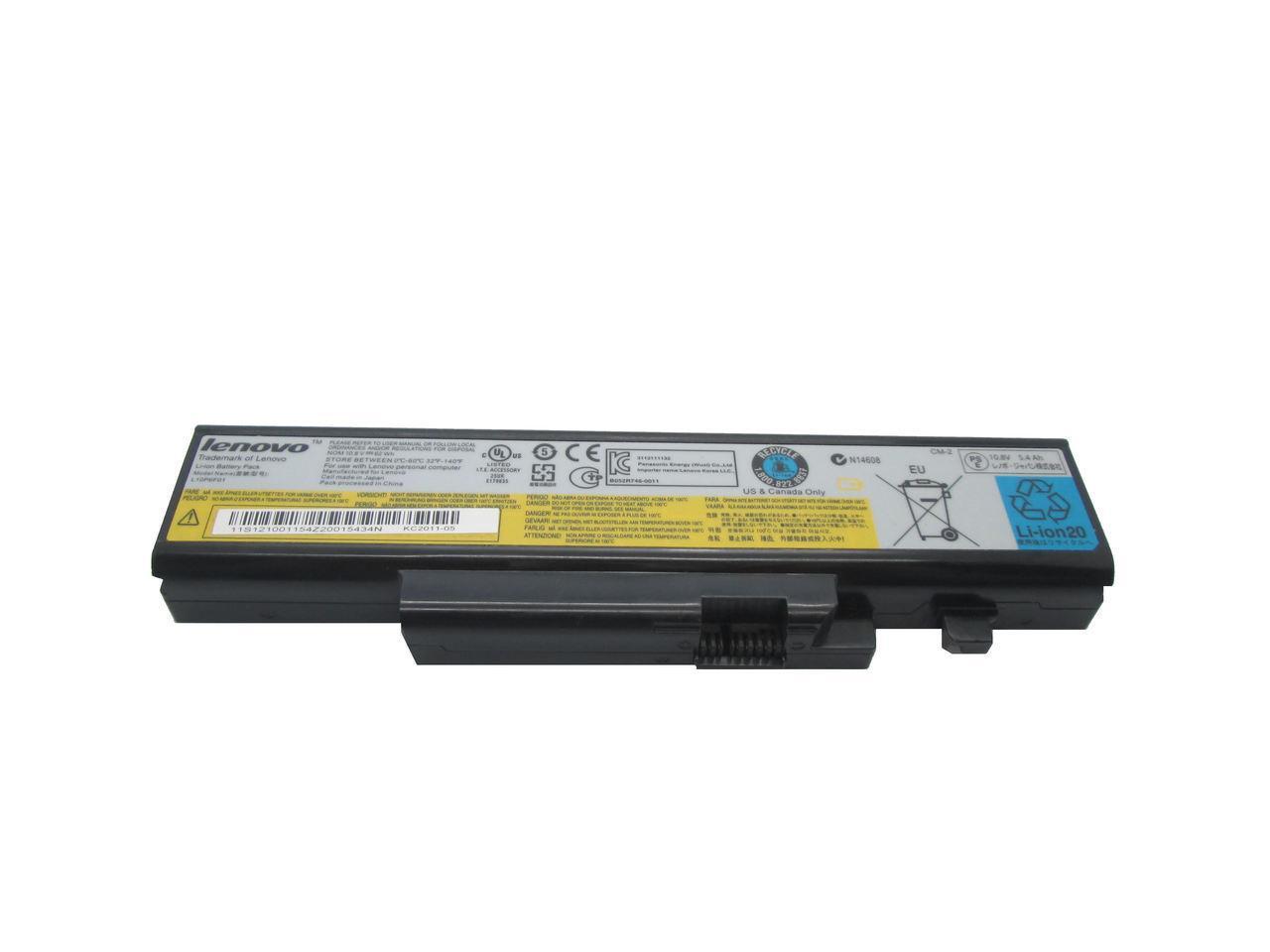 Аккумулятор для Ноутбука Lenovo Ideapad Y570, L10S6Y02 (10.8v 5200 mAh)