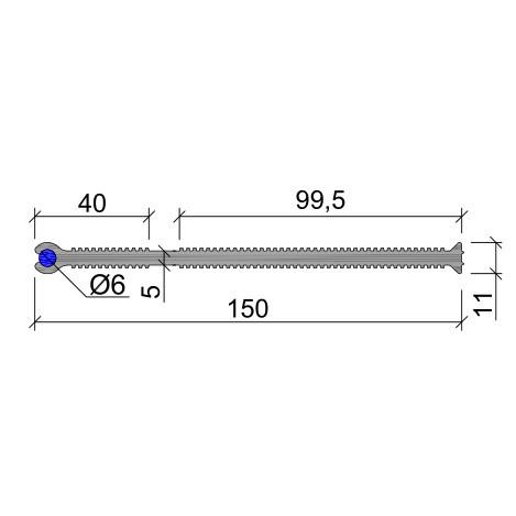 Гидрошпонка ХВН-150 (1хØ6) ПВХ-П