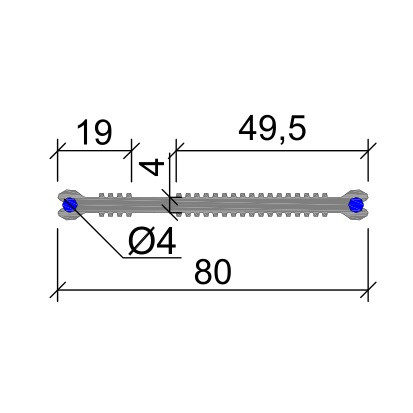 Гидрошпонка ХВН-80 (2хØ4) ПВХ-П