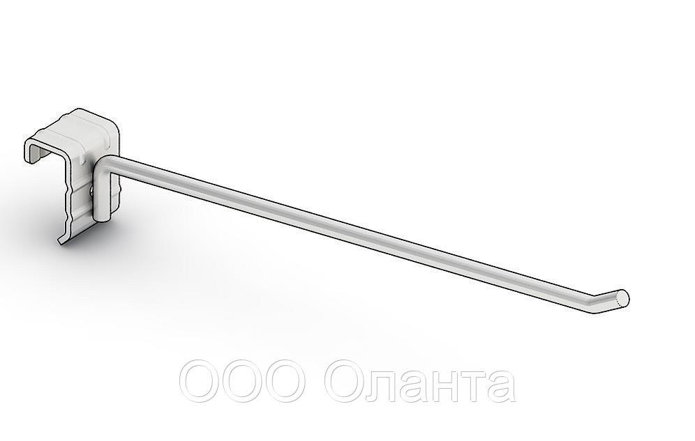 Крючок торговый одинарный (8х400 мм) цинк арт. ir30x15 1/8-400