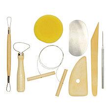 Hабор инструментов для работы с полимерной глиной 8 шт