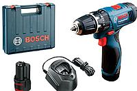 Аккумуляторная ударная дрель-шуруповерт Bosch GSB 120 LI Professional 06019F3006