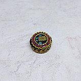 Амулет Монограмма Калачакры, 18х8мм, фото 2