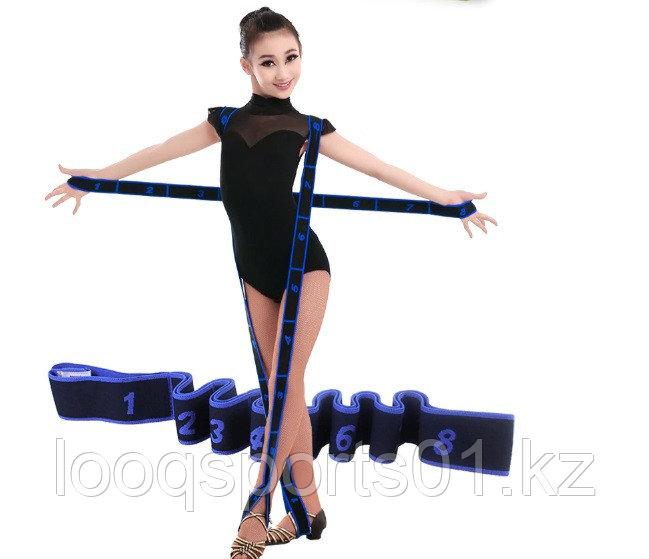 Ленточный эспандер для (гимнастики) резина для растяжки  всех групп мышц
