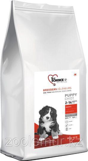 1st Choice Breeders Puppy сухой корм для щенков средних и крупных пород (с курицей) 20 кг.