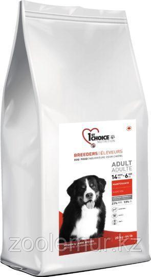 1st Choice Breeders Adult сухой корм для собак средних и крупных пород (с курицей) 20 кг.