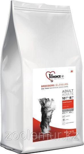 1st Choice Breeders Adult- корм для собак миниатюрных и мелких пород (курица) 20 кг.