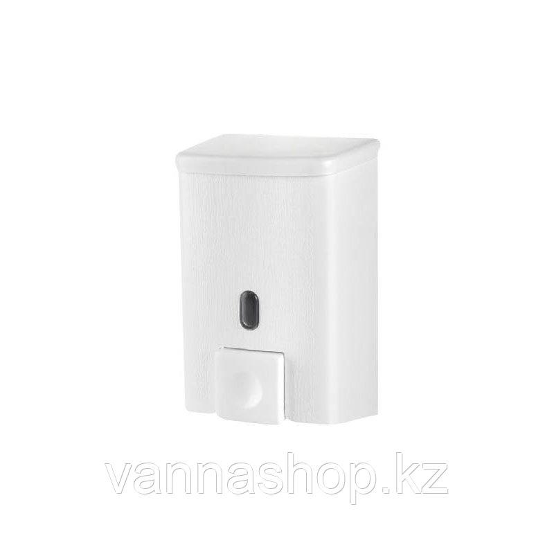 Дозатор (диспенсер) для жидкого мыла 500 мл белый - фото 5