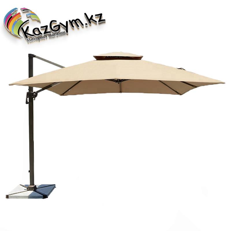 Зонт Banana Lux квадратный с вентиляцией (2.5х2.5м), песочный
