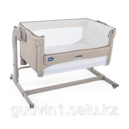 Chicco: Кроватка-манеж Next2Me Magic Sand 1098722