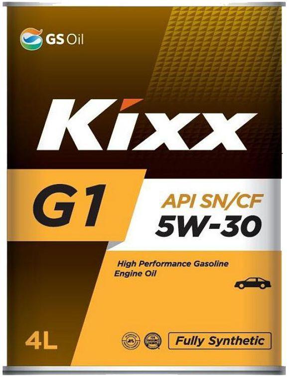 Моторное масло Kixx G1 5W30 SN 4L