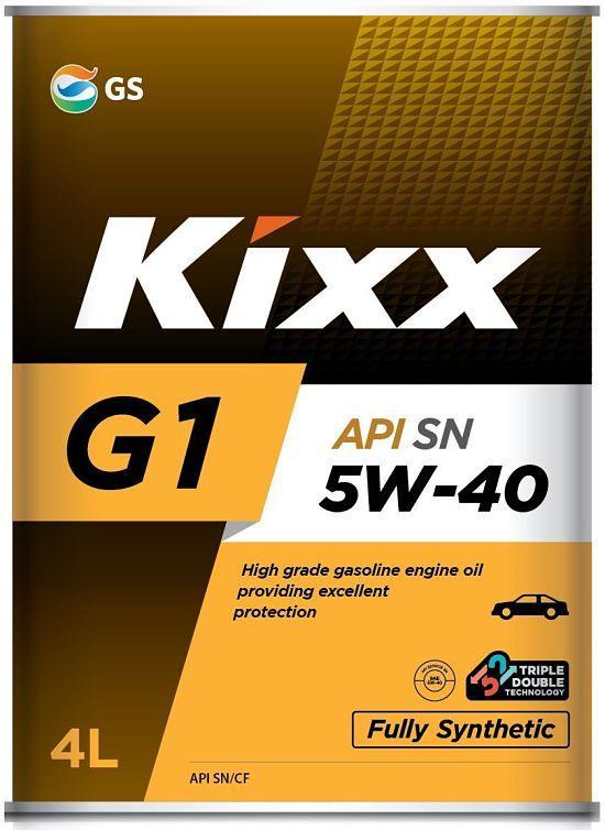 Моторное масло Kixx G1 5W40 4L