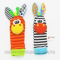 Носочки и браслетики с погремушками - SOZZY, фото 3