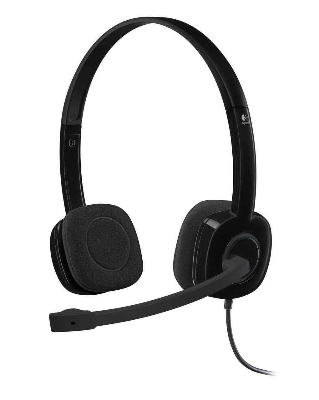 Logitech 981-000589 Stereo Headset H151 – EMEA - One Plug