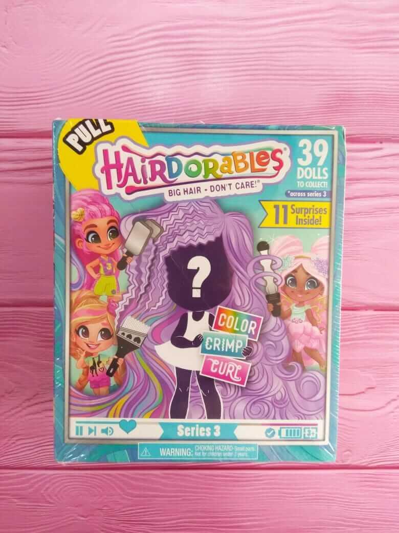 Кукла Hairdorables (Хеирдораблс) 3 серия
