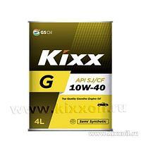 Моторное масло Kixx G 10W-40 SJ/CF 4L