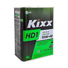 Моторное масло KIXX HD-1 CI-4/SL 10w40 4L