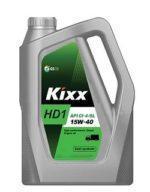 Моторное масло KIXX HD-1 CI-4/SL 10w40 6L