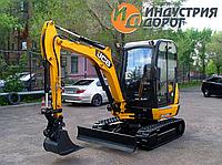 Услуги - мини-экскаватор JCB 8026