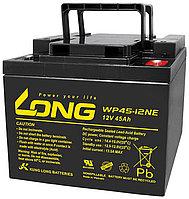 Тяговый аккумулятор LONG WP45-12NE (12В, 45Ач), фото 1